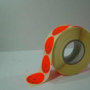 Sonderpreis 2HG B SCHLECKER 12000 Preisetiketten 24x16 l.-rot perm
