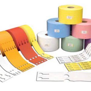 Schlaufenetiketten für TT-Drucker